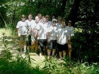 Bild Philips-Team  Neophytenbekämpfung im Europaschutzgebiet Lendspitz-Maiernigg